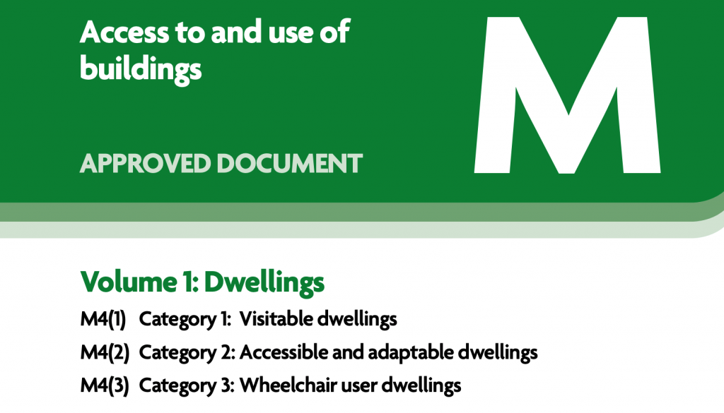 Approved Document Part M Building Regulations